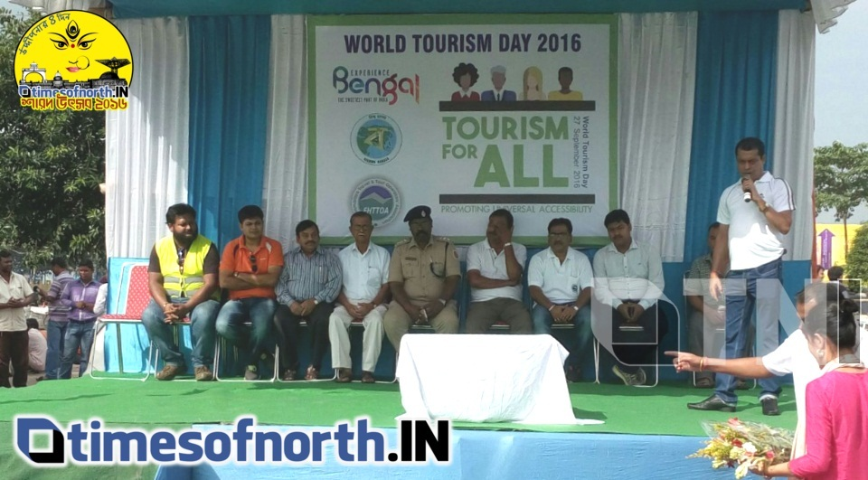 EHTTOA OBSERVED 'WORLD TOURISM DAY' TODAY AT SILIGURI