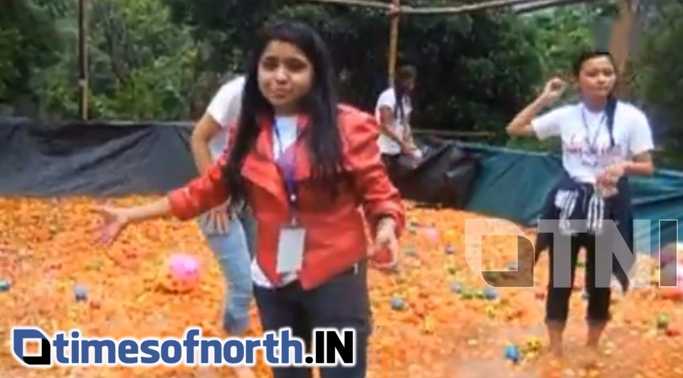 EASTERN INDIA'S FIRST LA TOMATINA FESTIVAL ORGANISED AT SHILLONG