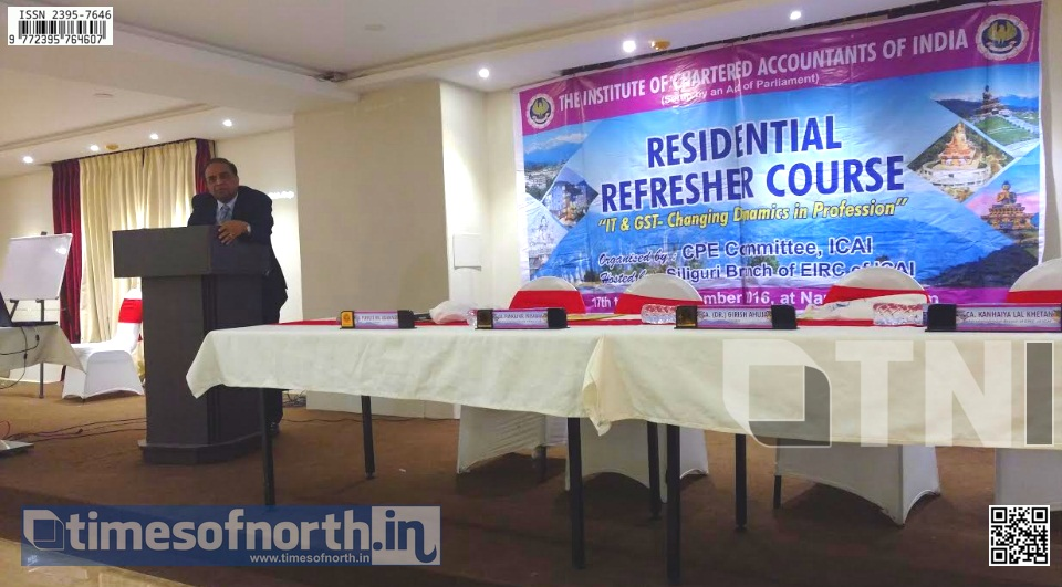 Namchi Hosted the ICAI Siliguri's CA Refresher Course This Year
