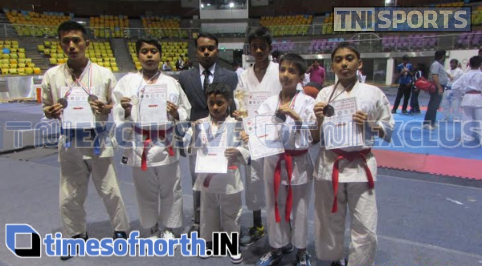 SILIGURI KARATE PLAYERS WON MEDALS AT NEW DELHI