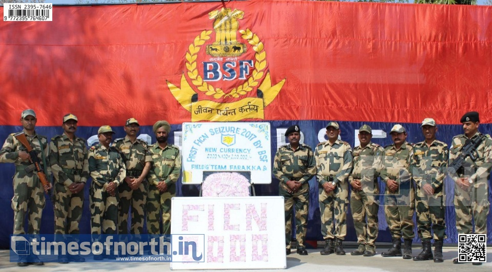 New Operations of BSF Malda Leading to Early Success in Busting FICN Rackets
