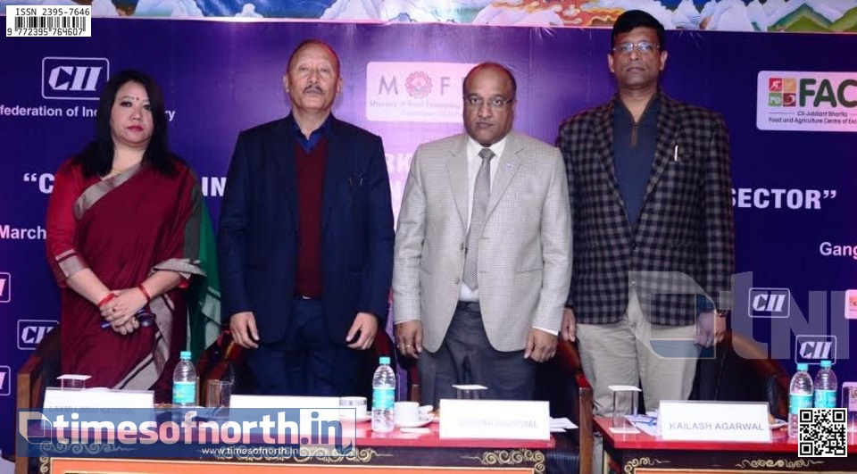 Workshop Organized by CII – North Bengal on Food Processing Sector at Sikkim