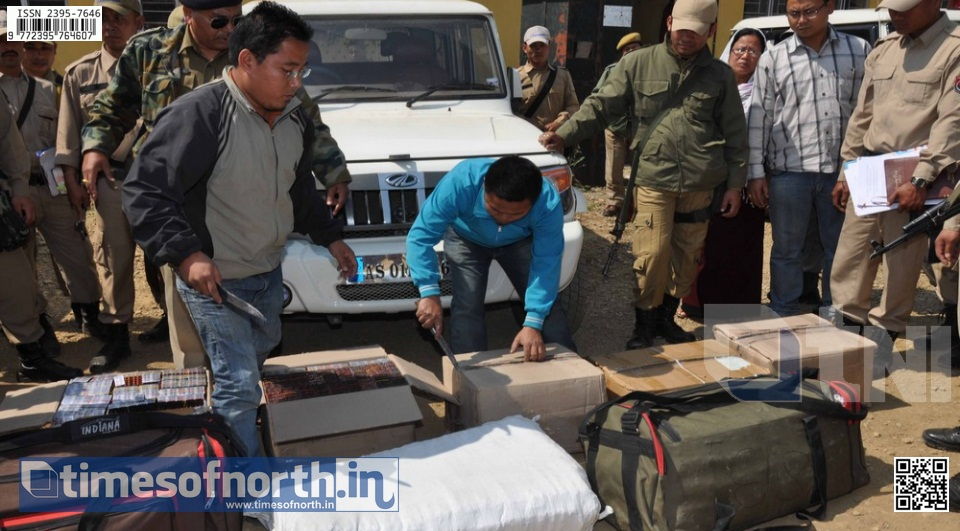 Rise in Drug and Liquor Cache After Election Surprises Manipur Police