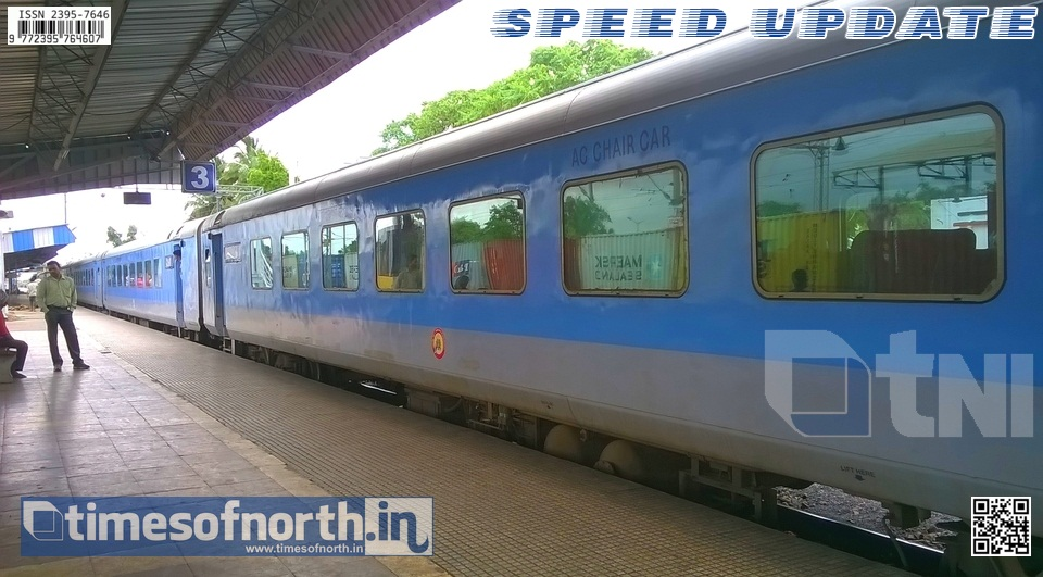 First Shatabdi Express of Assam to Start Very Shortly from Dibrugarh
