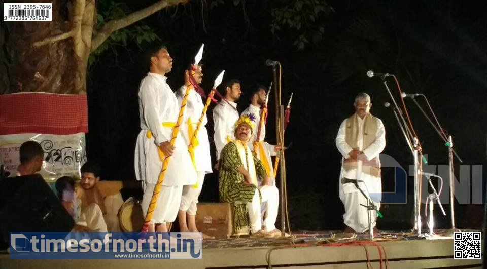 'World Theatre Day' Celebrated by Theatre Shows at Shanti Niketan, Bolpur