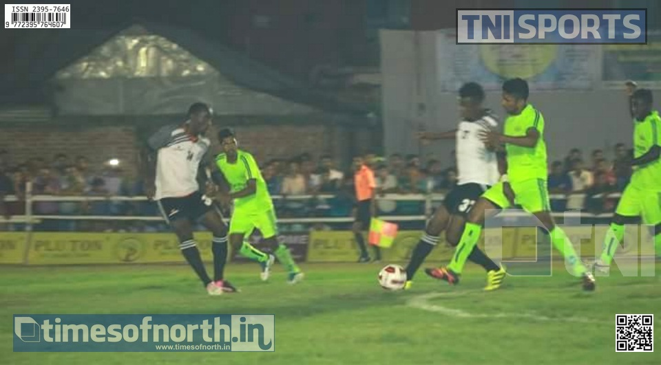 Night Football Starts at Islampur, Mommedan SC Wins the First Match