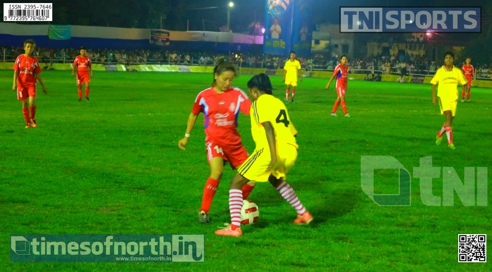 Dooars IX (Women) Wins Islampur Night Football Match