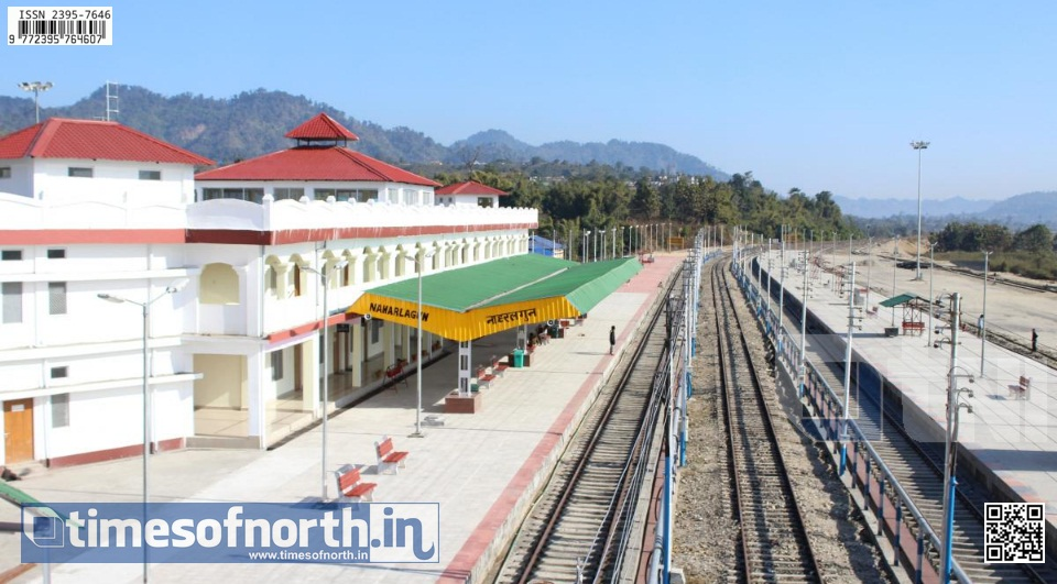 8 New Railway Lines Sanctioned for Arunachal Pradesh by Ministry of Railways