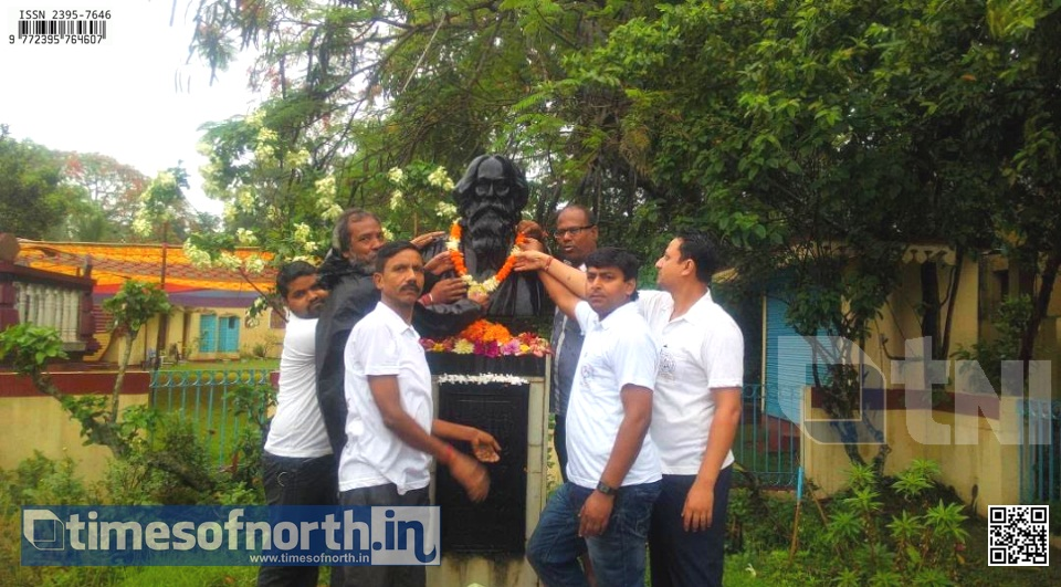 Rabindra Jayanti Celebrated at Dinhata Throughout the Day