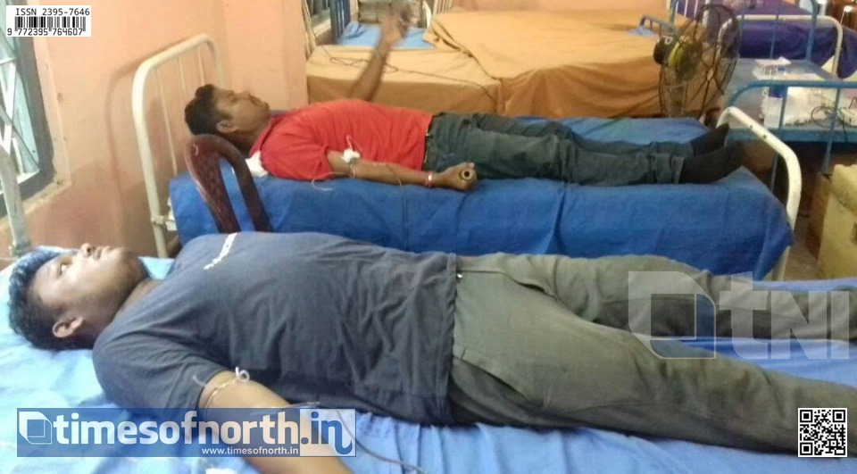 Blood Donation Camp Organized at Dinhata Today
