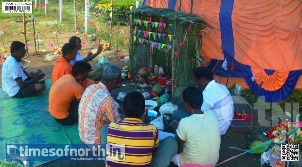 Shoulmari Village Observes Gram Pujan (Village Worship) Every Year [VIDEO]