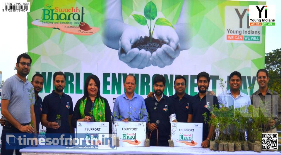 Yi (CII) Siliguri Celebrated 'WORLD ENVIRONMENT DAY' Yesterday
