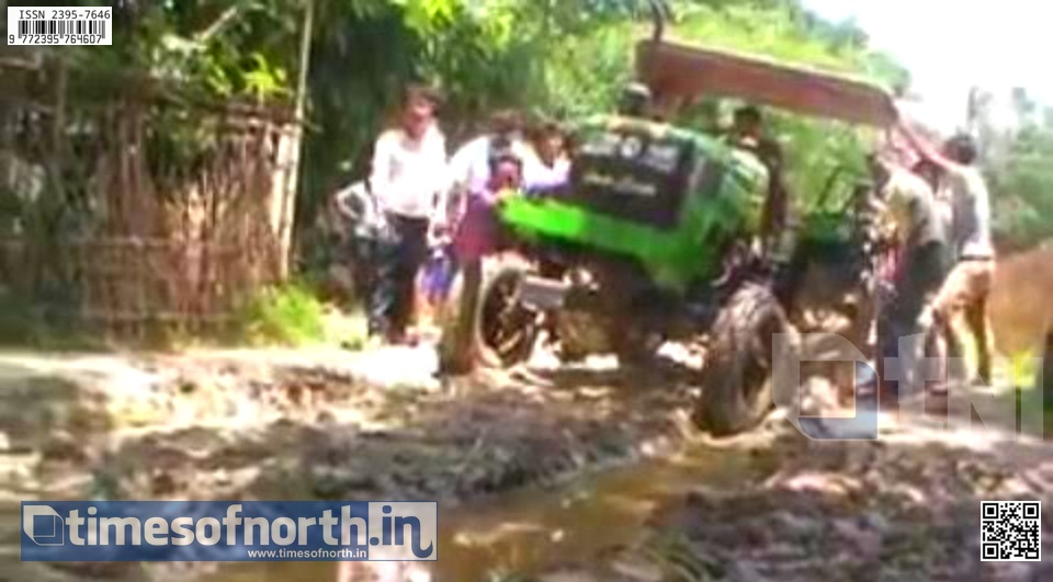 Worse Road Condition Goes to Deaf Years at Dakkhin Dinajpur