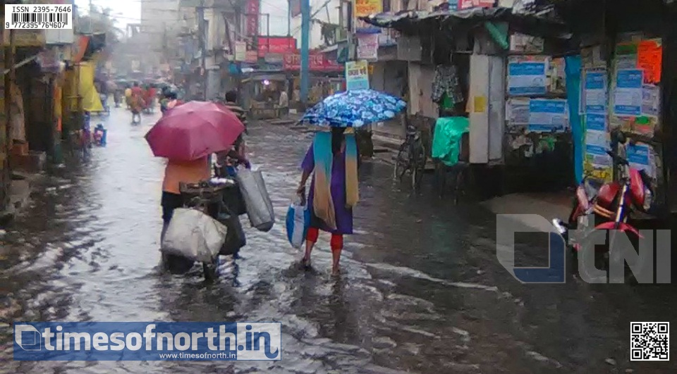 Ramrajatala Road of Howrah Under Water in Two Days of Rain