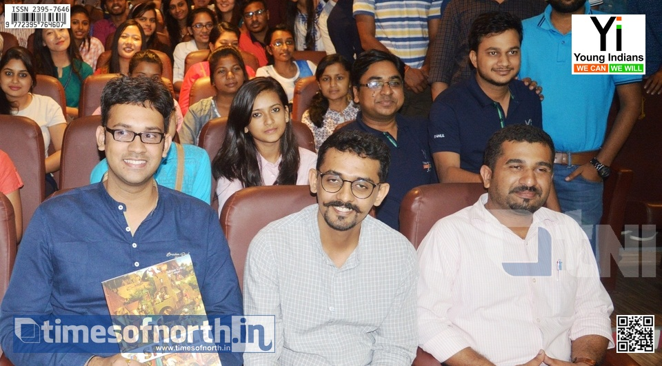 Young Indians, Siliguri Chapter Organizes Branding Workshop for Students at Siliguri