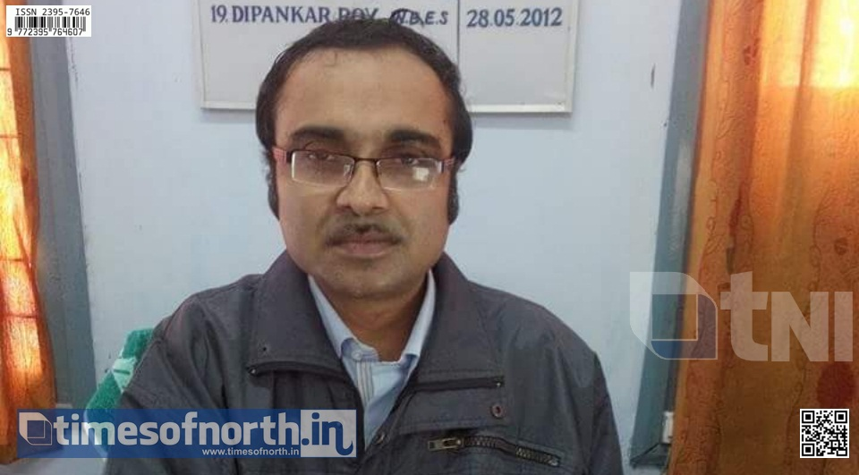 School Inspector Dipankar Roy Transferred from Balurghat to Barrackpore