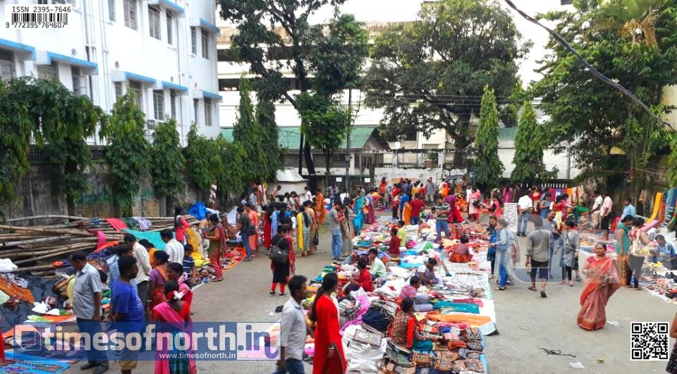Santiniketan's 'Khoyai er Haat' is Now at Siliguri's Jatiya Yuba Sangha [VIDEO]