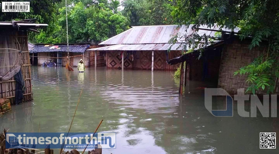 Flood Situation Worsens in Uttar Dinajpur, Administration Creates Relief Camps [VIDEO]