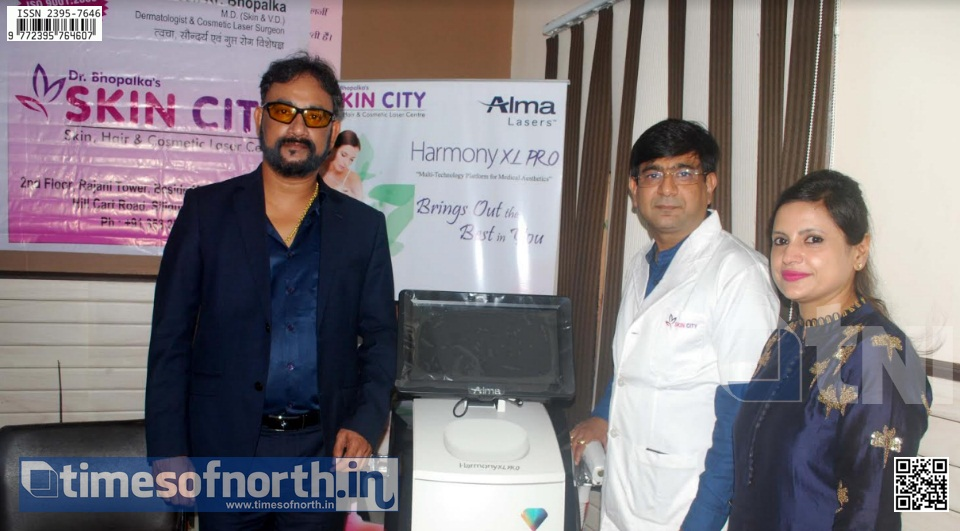Dr. Bhoplaka's Skin City, Siliguri Launched MGA Technology in Siliguri