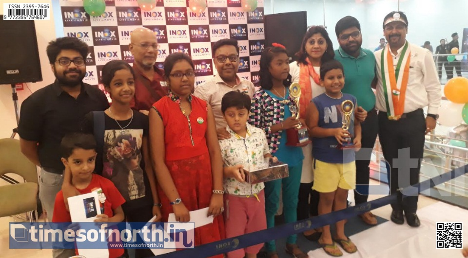 Art Competition Organized By INOX Vega Circle on Independence Day