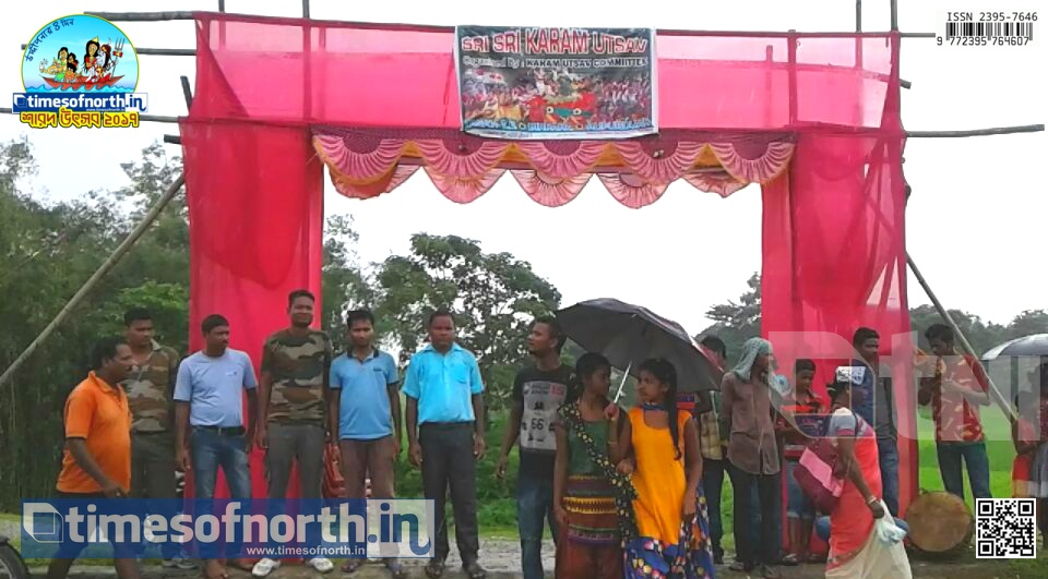 Karam Puja Celebrated at Falakata by Adivasi People Followed by Kajlihalt Mela [VIDEO]