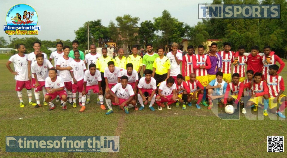 Proshika Netaji Pally Beat Hili Frontier for Half Dozen in Islampur Football