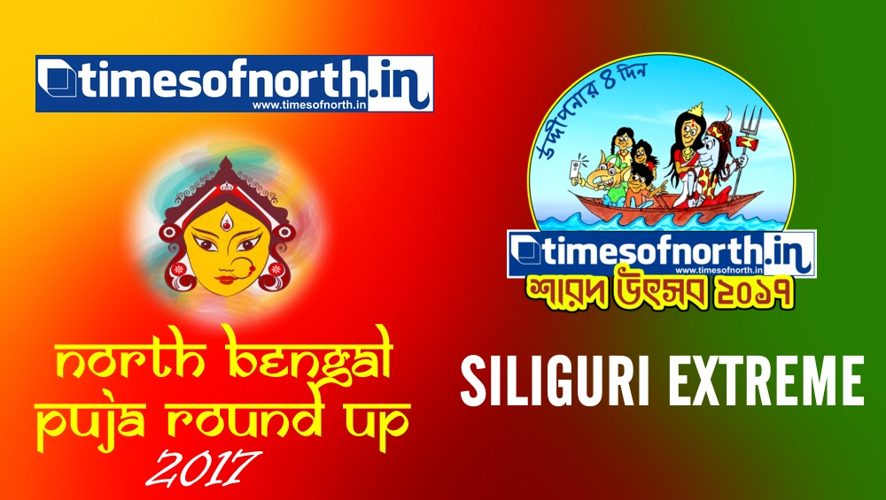 SILIGURI EXTREME Durga Puja Round Up 2017 | timesofnorth.IN [VIDEO]