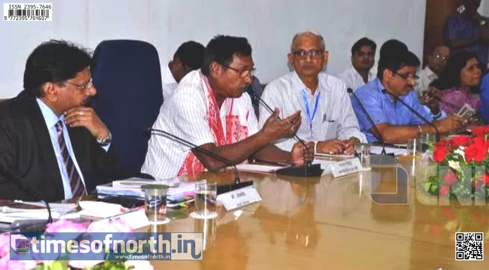 Union Minister of State of Railways Reviewed Southern Railway Performance