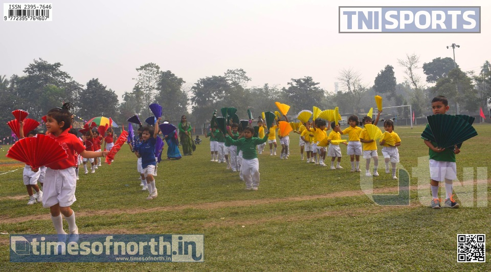Annual Sports of Anandam Kinder Days Held at Jalpaiguri Yesterday