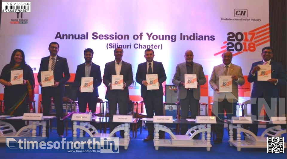 Piyush Garg and Pritam Bansal becomes the Chair and Co-Chair of Young Indians Siliguri