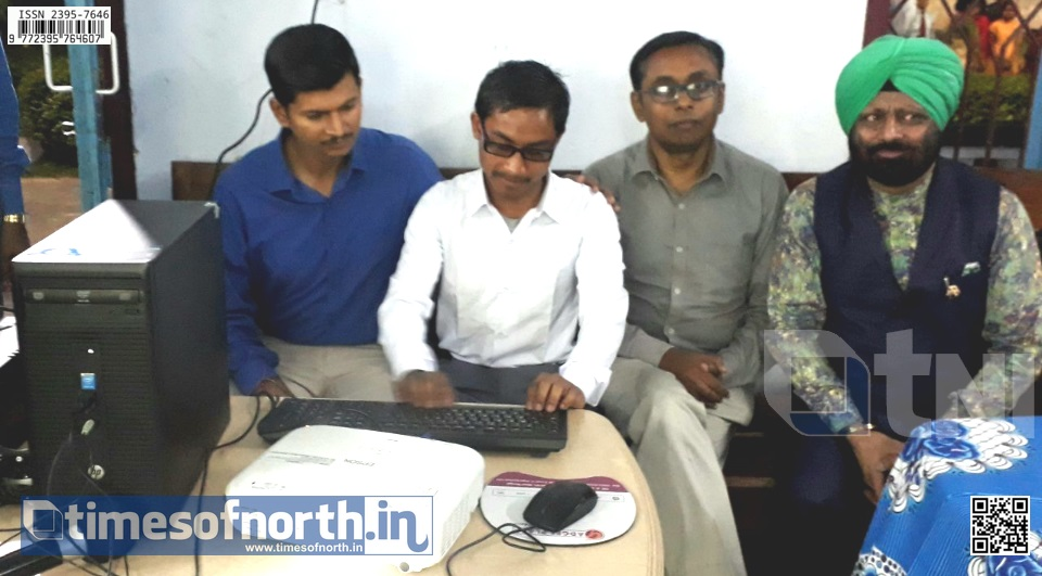 UKGB Hands over Unique Software for the Blind Students of CHBB Coochbehar