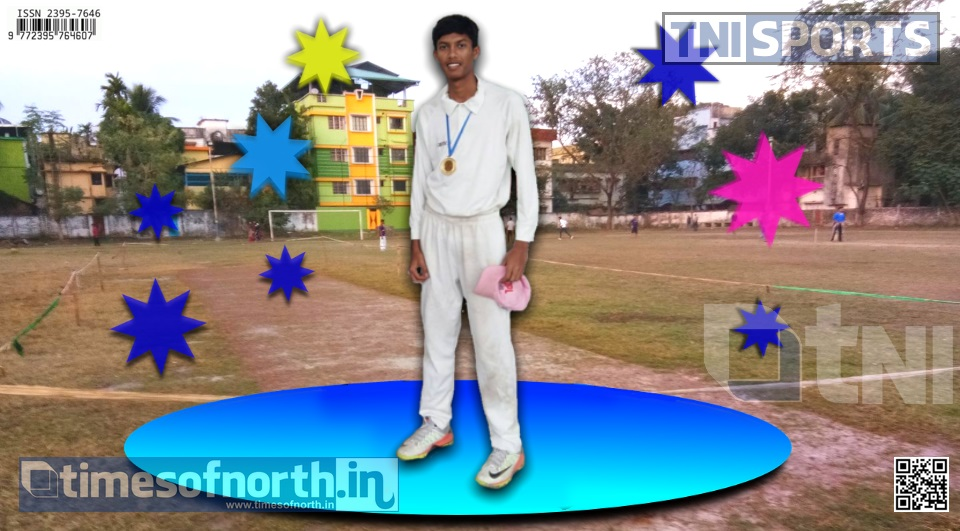 6 ft Kumar Aryan Destroyed BSAC by his 5 Wicket Haul at the 1st Division Cricket