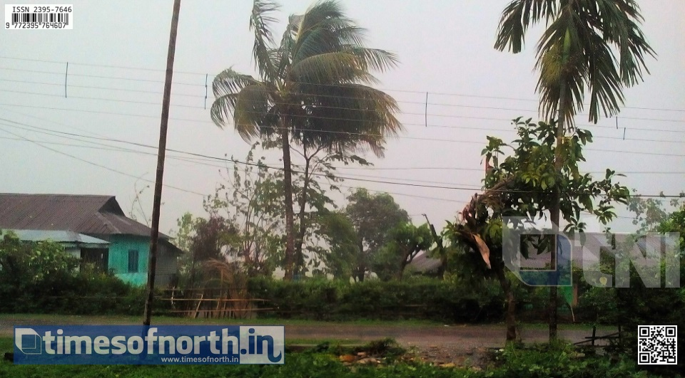 Hail Storm Lashed Jalpaiguri District Killing 2 People due to Electrocution