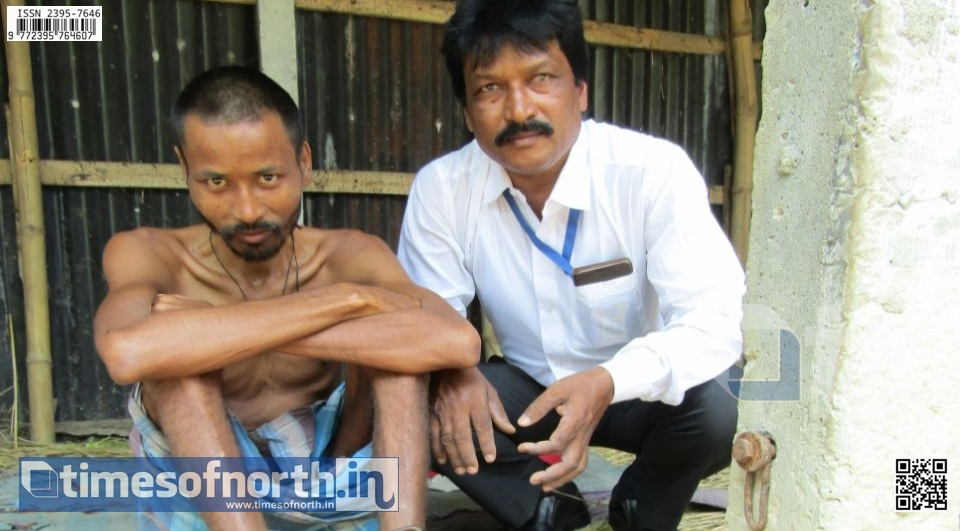 Mental Patient Chained in His Own House due to Lack of Money for Treatment