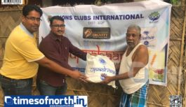 Lions Club of Siliguri – Dignity Distributes 'Upaahar Dry Ration' before Pujas