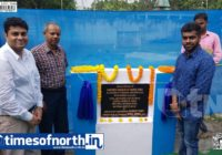 Foundation of Earthen Stadium at Hantapara TG Laid at Alipurduar