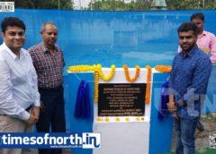 Foundation of Earthen Stadium at Hantapara TG Laid at Alipurduar