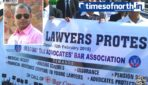 Siliguri Tax Advocates Bar Association's Rally for Demand of Social Security to Lawyers