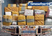 Illegal Foreign Goods worth Crores Intercepted at Siliguri