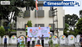 NHPC Siliguri Observed 75th Independence Day Today